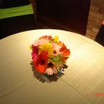 wedding 33, table flowers
