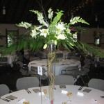 wedding 30, table flowers