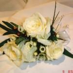 wedding 16 corsage