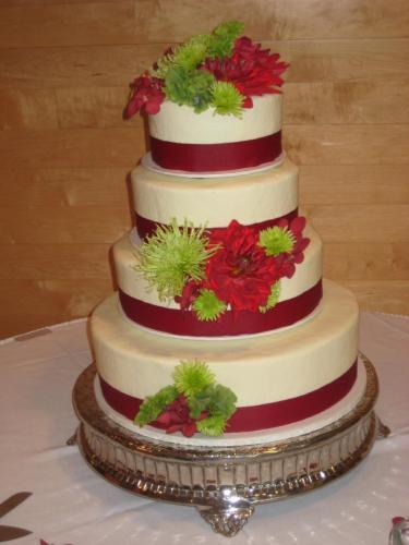wedding 49 cake flowers